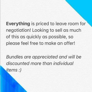 Offers and bundles!!!